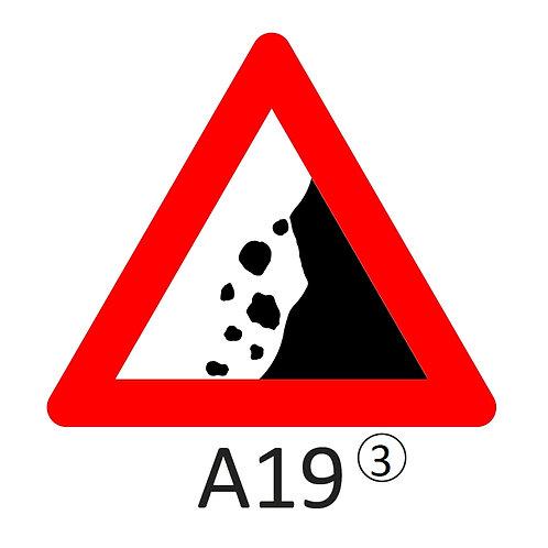 Verkeersbord A19 - klasse 3