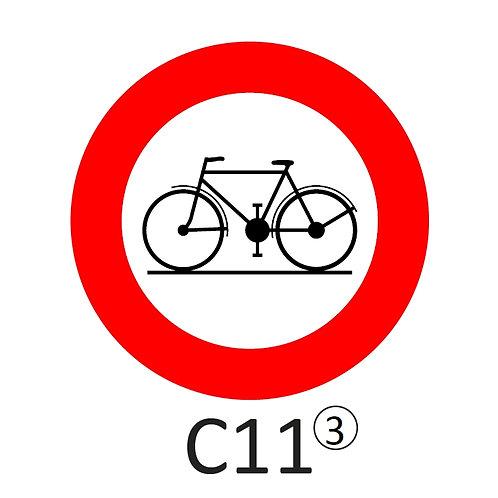 Verkeersbord C11 - klasse 3