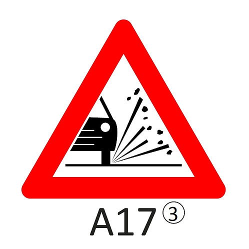 Verkeersbord A17 - klasse 3