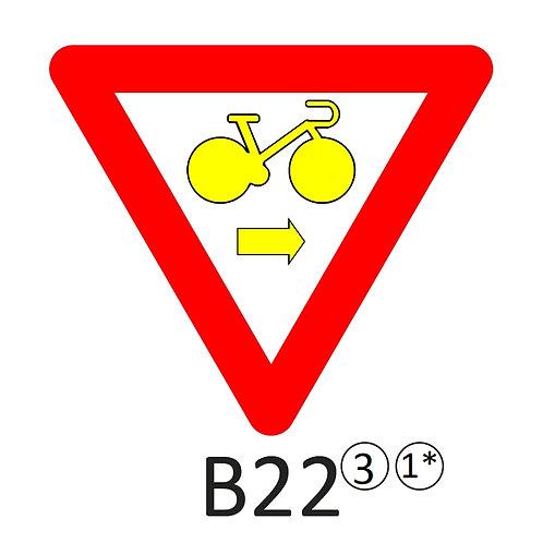 Verkeersbord B22 - klasse 3