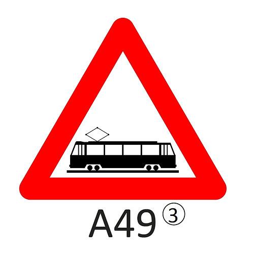 Verkeersbord A49 - klasse 3
