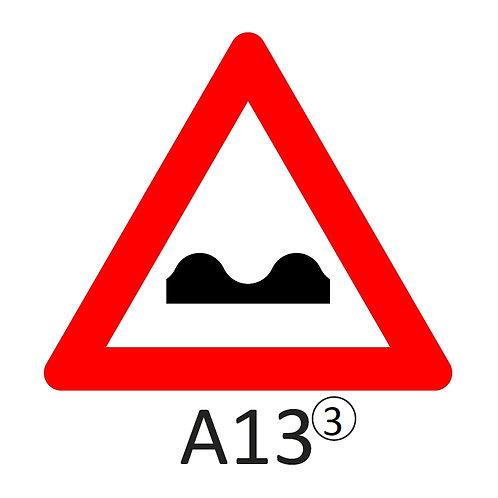 Verkeersbord A13 - klasse 3