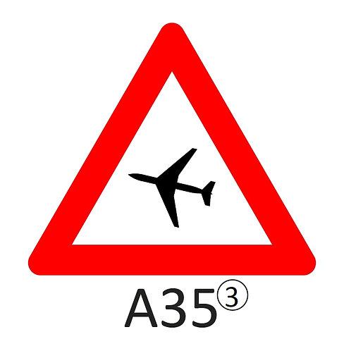 Verkeersbord A35 - klasse 3