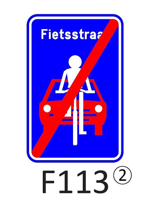 Verkeersbord F113 - klasse 2