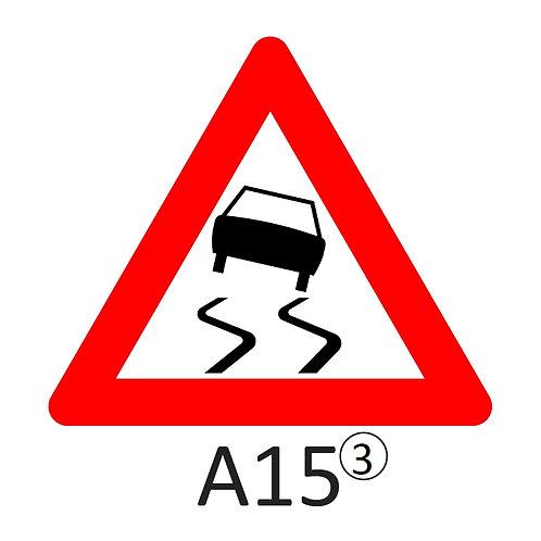 Verkeersbord A15 - klasse 3