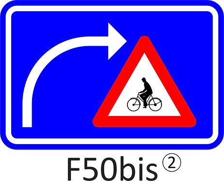 Verkeersbord F50bis - klasse 2