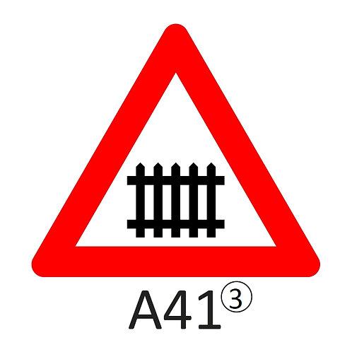 Verkeersbord A41 - klasse 3