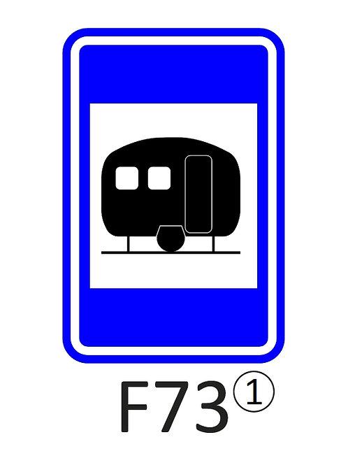 Verkeersbord F73 - klasse 1