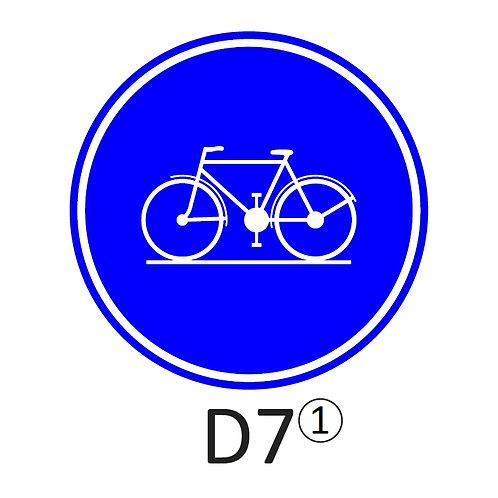 Verkeersbord D7 - klasse 2