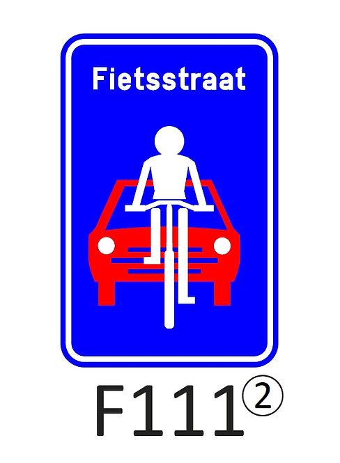 Verkeersbord F111 - klasse 2