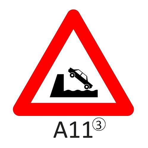 Verkeersbord A11 - klasse 3