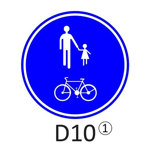Verkeersbord D10 - klasse 2