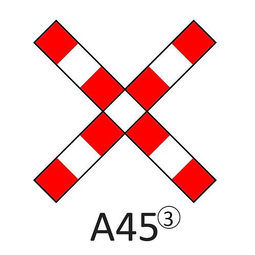 Verkeersbord A45 - klasse 3