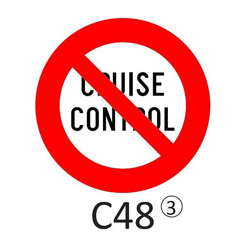 Verkeersbord C48 - klasse 3
