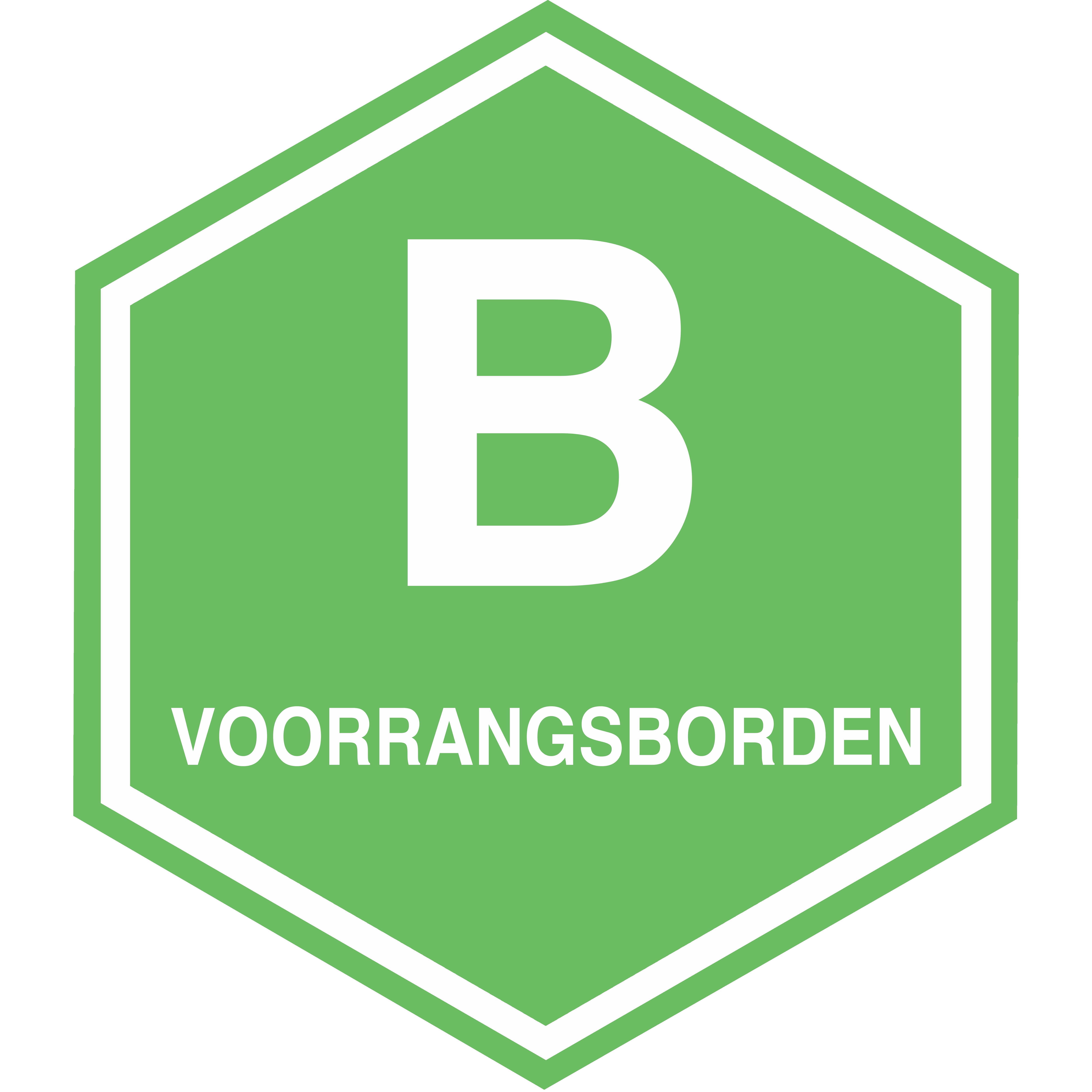 B VOORRANGSBORDEN