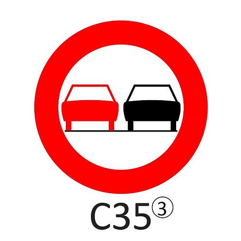 Verkeersbord C35 - klasse 3