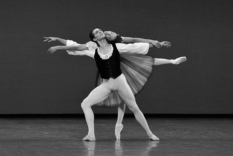 """Mozartiana"" de George Balanchine, à l'Opéra Garnier"