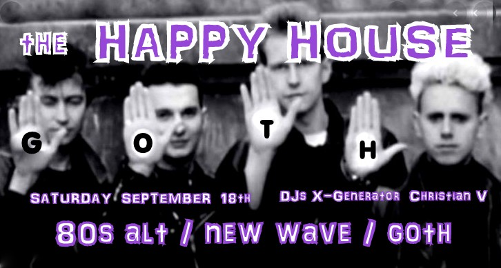 The Happy House DJ Night