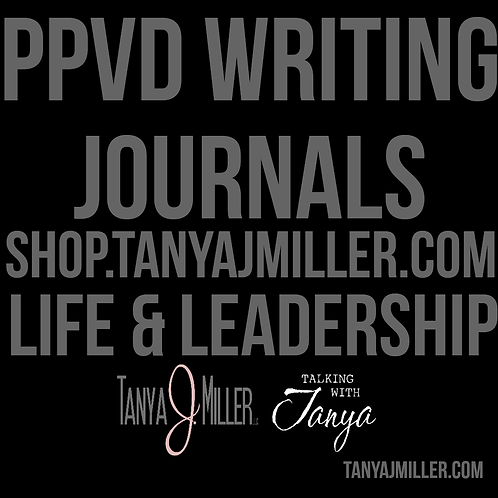 PPVD Writing Journals