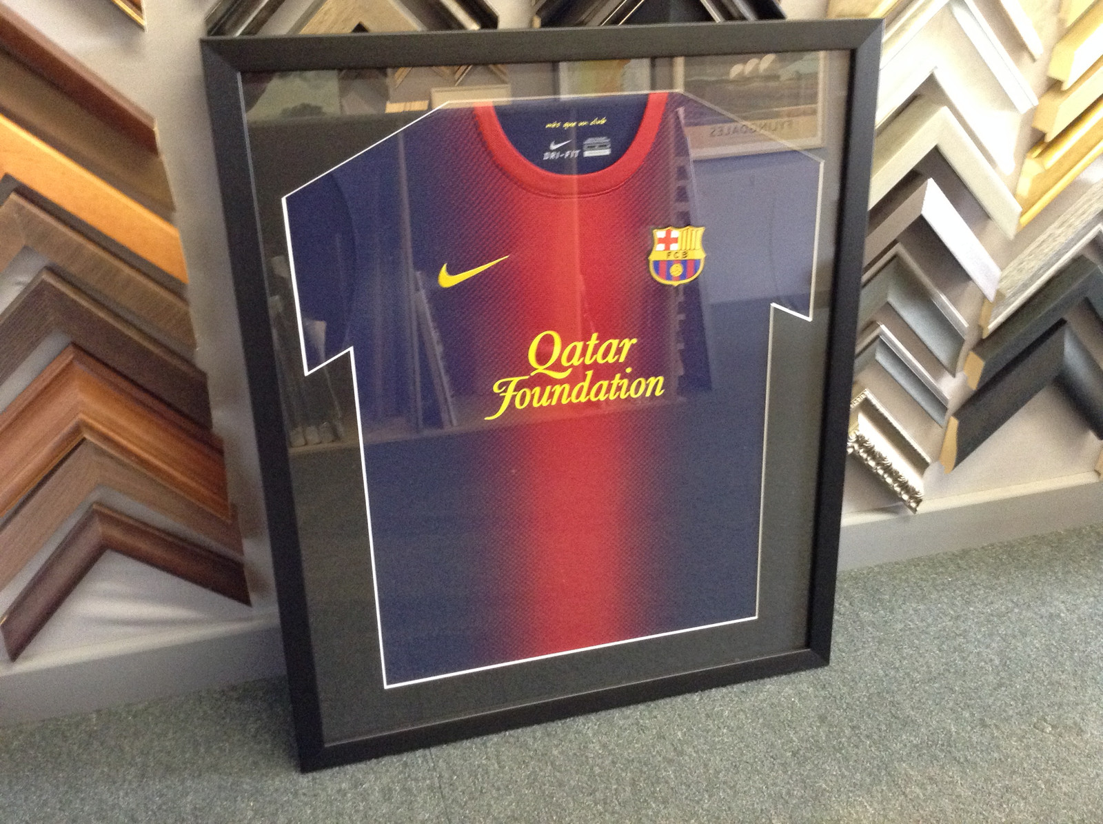 Sports Shirt Framing| Birmingham | Theframingstudios.comirt
