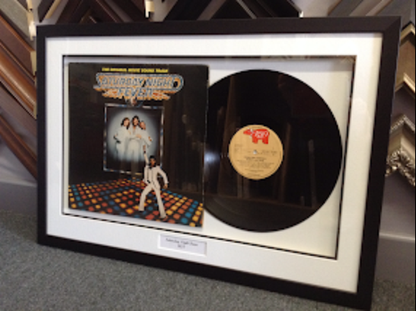 Box framed record. Great Gift!