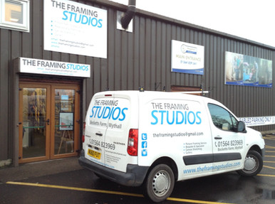 Our Workshop and gallery at Becketts Farm, Wythall.