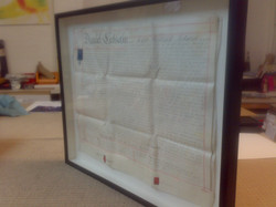 Deeds, box frame