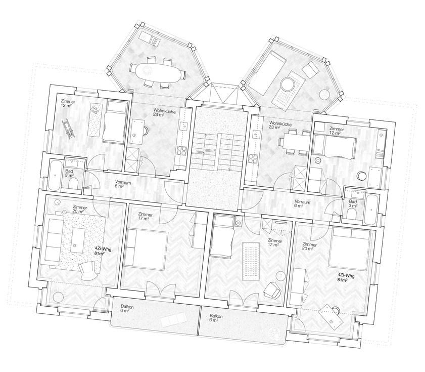 """Die neuen """"Gartenzimmer""""   können als Wohn- oder Esszimmer benutzt werden."""