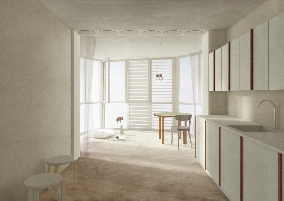 """Mit den """"Gartenzimmern"""" bietet der Anbau eine neuartige Mischung aus Innen- und Aussenraum."""