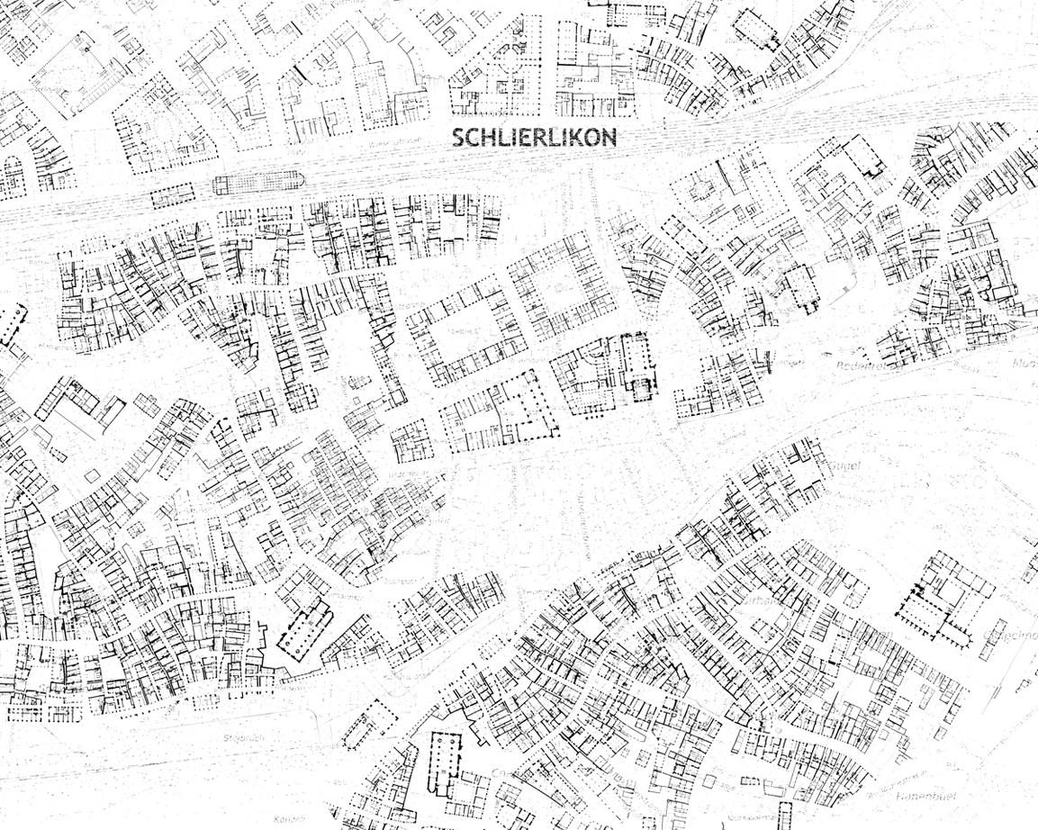 Wir stellten uns nun vor, jemand hätte den Erdgeschossgrundriss einer ganzen Stadt gezeichnet. Alle Details sind vorhanden. Der Erdgeschossplan ist eine Collage des Lebens einer Stadt, ein feinfühliges Abbild der überlagerten Öffentlichkeiten.