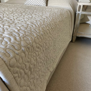 Vermicelli Quilted Bed End Runner