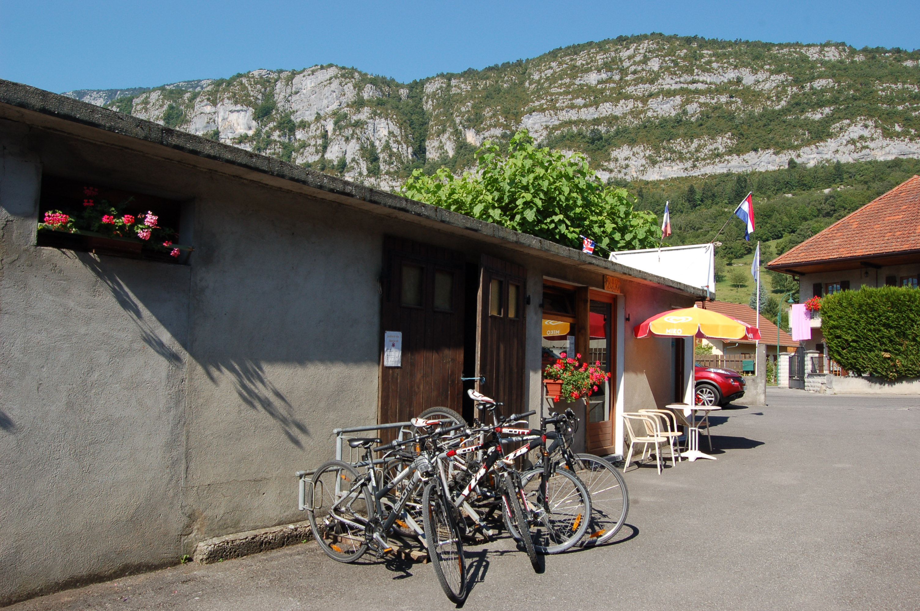 Camping le Taillefer Vélo