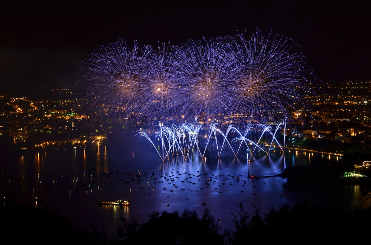 Lake Annecy Fireworks