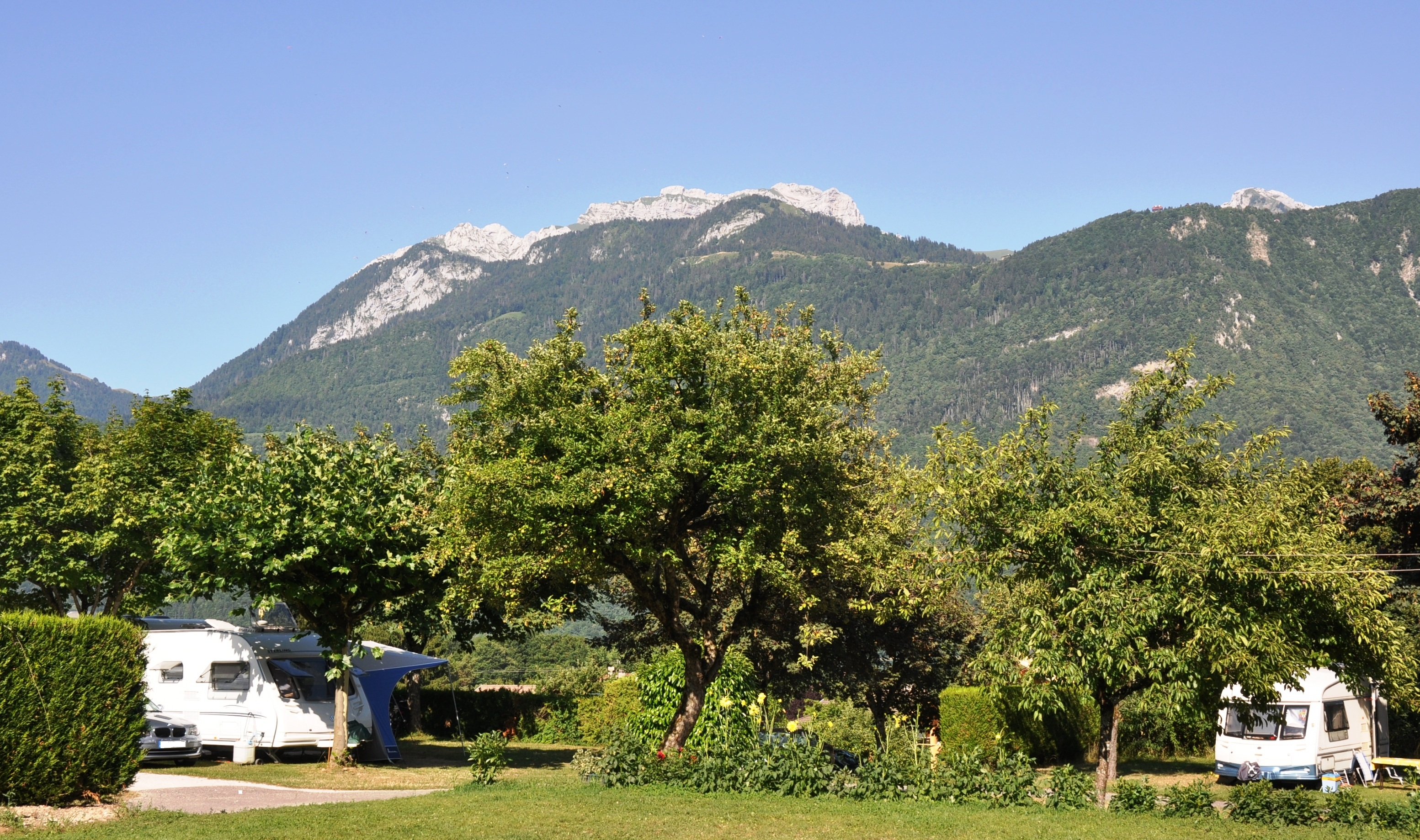 Camping le Taillefer Vue Tournette
