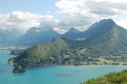 Lac d'Annecy Vue sur Duingt