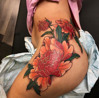 Floral Peonies by Jason