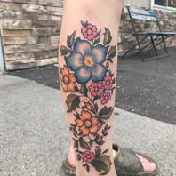 Antique Florals by Kayla