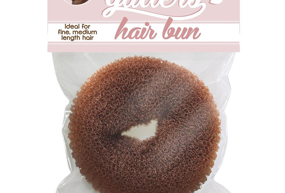 Hair Buns 1pc Medium - Dark Brown