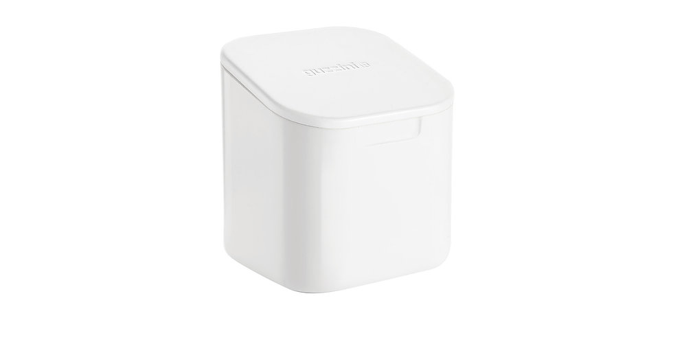 Storage Jar-White