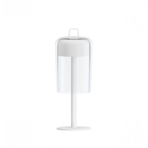 Wireless Table Lamp Soiree White