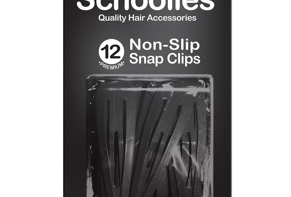 Snap Free Clips 12pc - Wicked Black