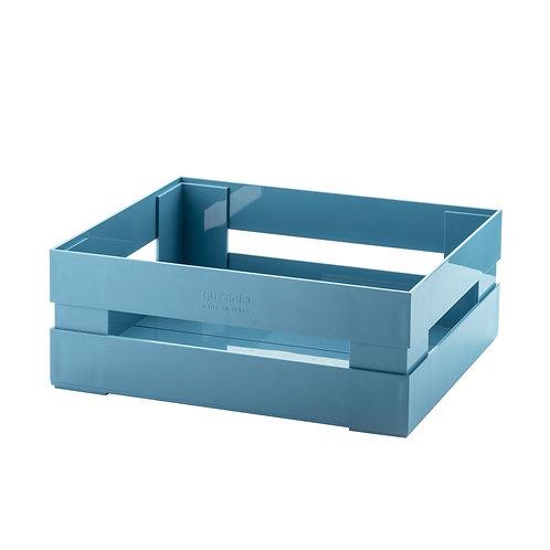 Large Box-Matt Mid Blue