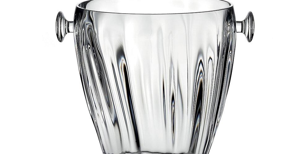 Aqua Ice Bucket w/ tongs - Transparent