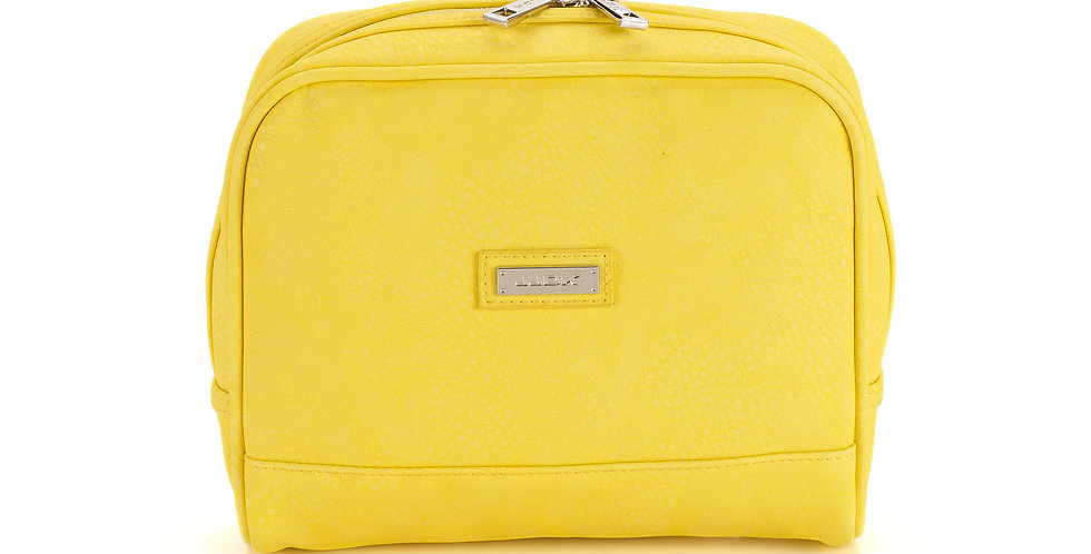 Fernanda (M) Cosmetic Bag - Yellow