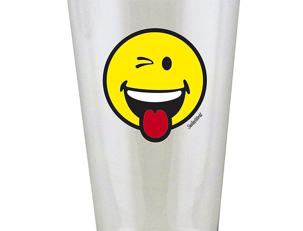 Glass Tumbler 30cl- Emo Wink