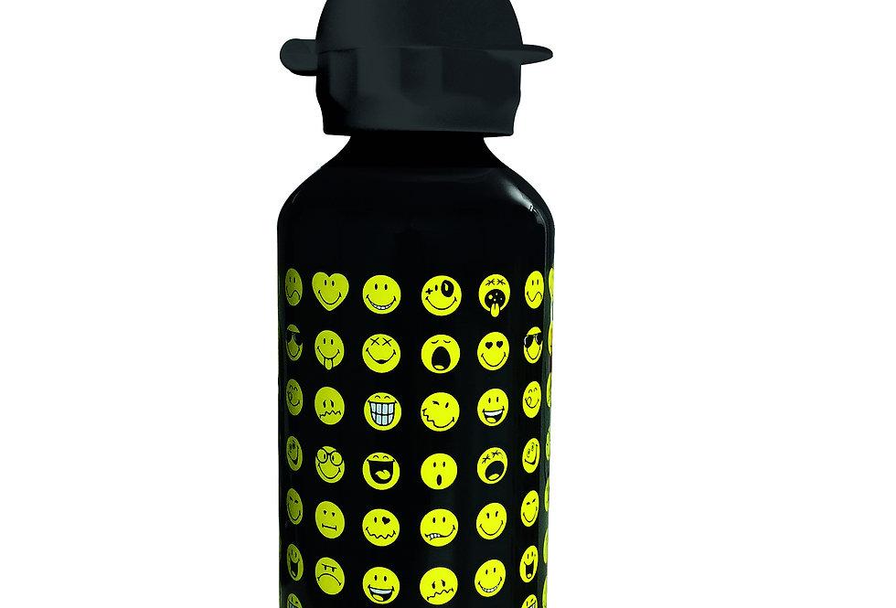 Aluminium Bottle 600ml- Emo Black