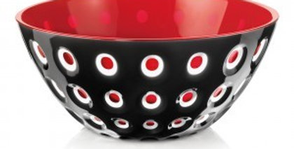 Murrine Bowl 20cm - Black/White/T