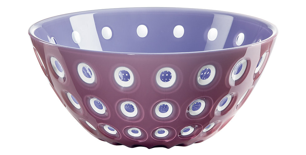 Murrine Bowl 20cm - Mauve/White/Lilac