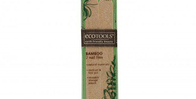Bamboo Nail Files 2pc