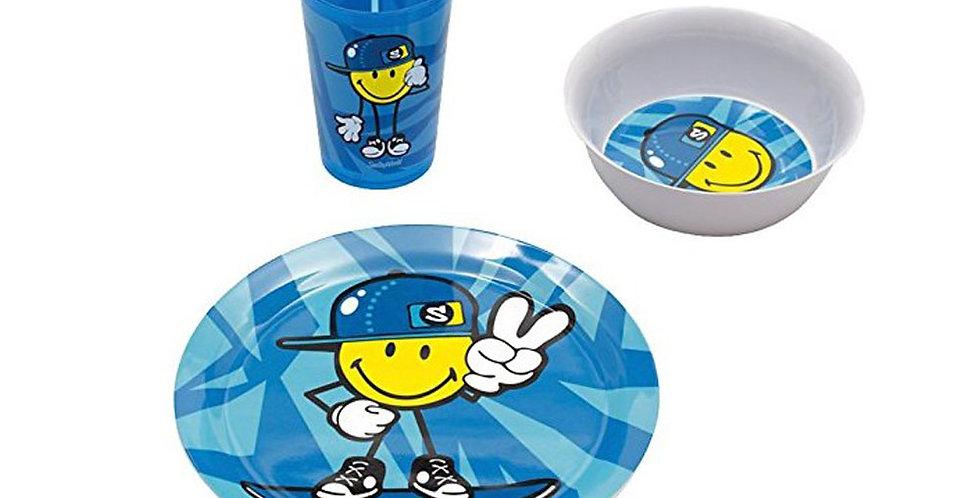 Junior Boy 3-Pc Set 28.5cl- Blue